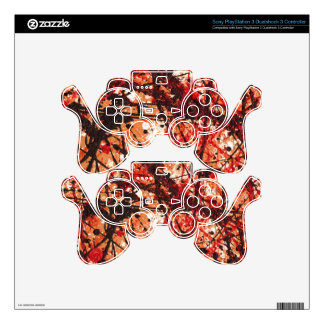 AUTUMN MIX (an abstract art design) ~ PS3 Controller Skin