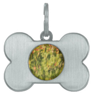 Autumn Monet Pet ID Tag