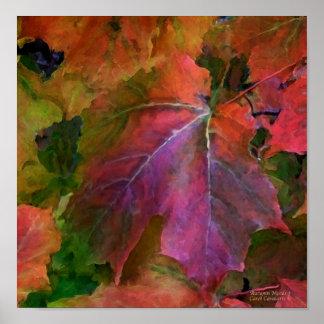 Autumn Moods 3 Art Poster