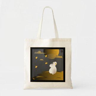 """Autumn"" Moon Bunny tote-bag"