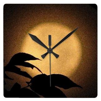 Autumn Moon Clock