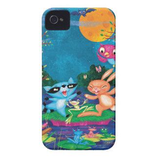 Autumn Moon iPhone 4 Case