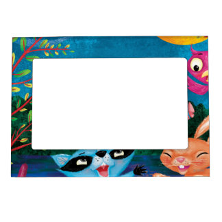 Autumn Moon Magnetic Picture Frame