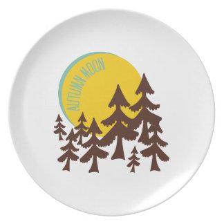 Autumn Moon Plates