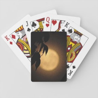 Autumn Moon Playing Cards