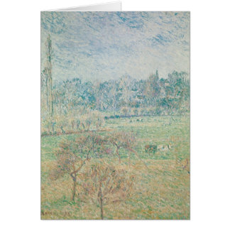 Autumn Morning, 1892 Greeting Card