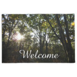 Autumn Morning at Shenandoah National Park Doormat