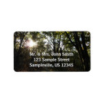 Autumn Morning at Shenandoah National Park Label