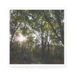 Autumn Morning at Shenandoah National Park Paper Napkin