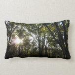 Autumn Morning at Shenandoah National Park Throw Pillow