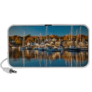 Autumn Morning In The Camden Harbor, Camden 2 Mini Speakers