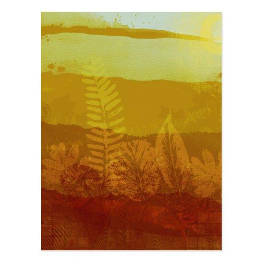 Autumn Morning Postcard