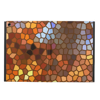 Autumn Mosaic Abstract Cover For iPad Air