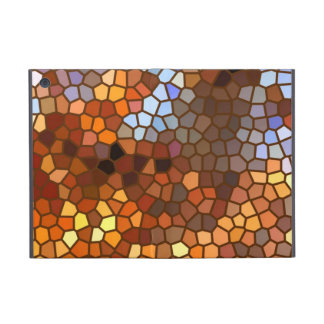 Autumn Mosaic Abstract Cover For iPad Mini