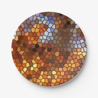 Autumn Mosaic Abstract