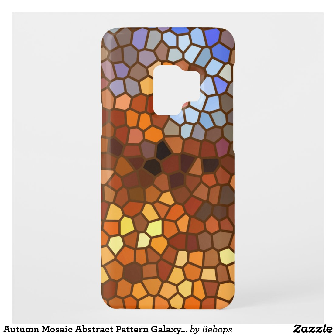 Autumn Mosaic Abstract Pattern Galaxy S9 Case