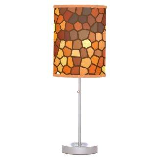 Autumn Mosaic Lamps