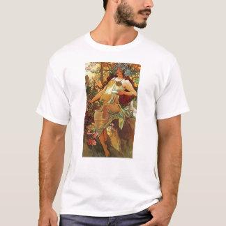 Autumn, Mucha T-Shirt
