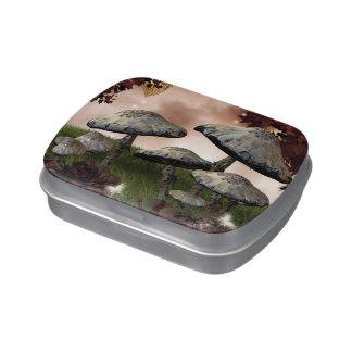 Autumn Mushrooms Candy Tin