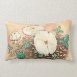 autumn mushrooms landscape pillows