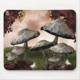 Autumn Mushrooms Mouse Pad