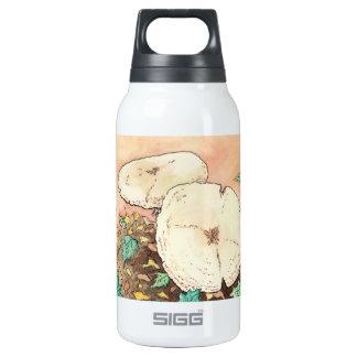 autumn mushrooms nature landscape insulated water bottle