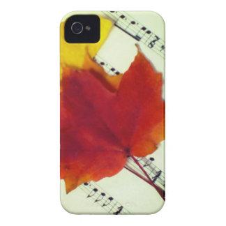 Autumn Music iPhone 4 Case