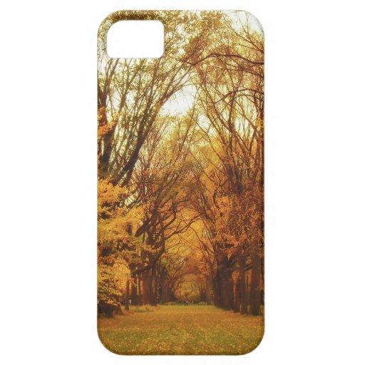 Autumn - New York City iPhone 5 Case