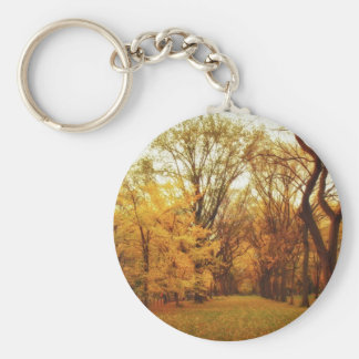 Autumn - New York City Keychain