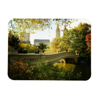 Autumn New York Decorative- Central Park Magnet