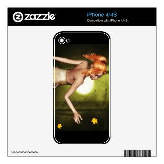 Autumn night Elf iPhone skin iPhone 4 Skins