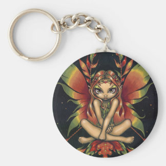 """""""Autumn Night Fairy"""" Keychain"""