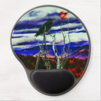 Autumn Night Gel Mouse Pad