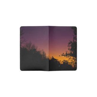 Autumn Night Sky MOLESKINE® Cover by RoseWrites Pocket Moleskine Notebook