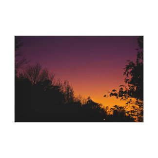 Autumn Night Sky On Canvas by RoseWrites