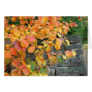 Autumn Note Card