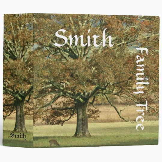 Autumn Oak Family History Binder