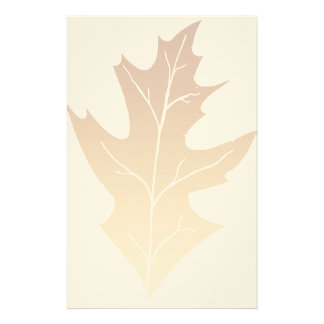 Autumn Oak Leaf Stationery