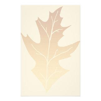 Autumn Oak Leaf Stationery