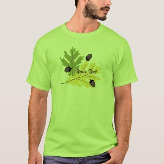 Autumn Oak Leaves and Acorns Fall t-shirt