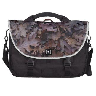 Autumn Oak Leaves Computer Bag
