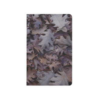 Autumn Oak Leaves Journal
