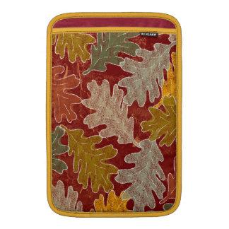 Autumn Oak Leaves Sleeve For MacBook Air