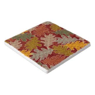 Autumn Oak Leaves Trivet