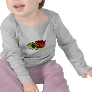 Autumn of sheets leaves autumn leaves t-shirt