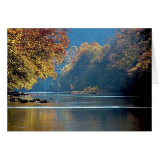 Autumn on Clinch River Cards