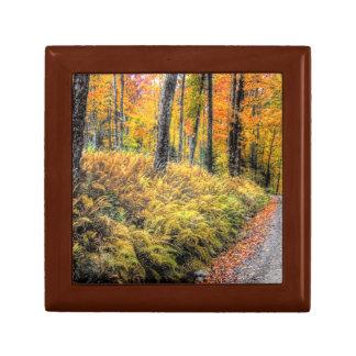 Autumn on Long Pond Road Giftbox Jewelry Box
