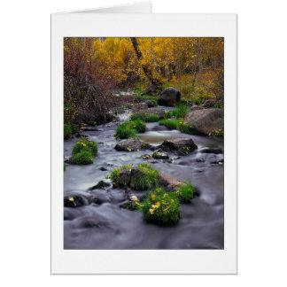 """Autumn On Mill Creek"" Card"