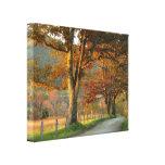 Autumn on Sparks Lane Gallery Wrap Canvas
