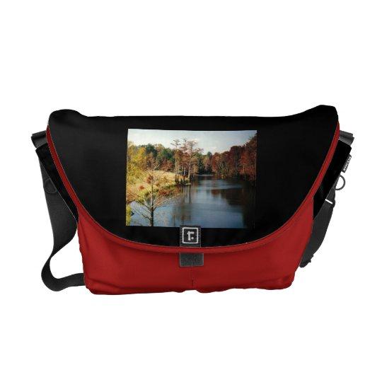 Autumn on the Bayou Messenger Bag